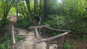 bmx dirt jump trail build gopro youtube