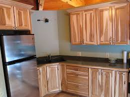 Knotty Hickory Kitchen Cabinets Amish Hickory Cabinets Hickory Cabinets For Traditional And