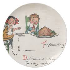 fashion thanksgiving plates zazzle