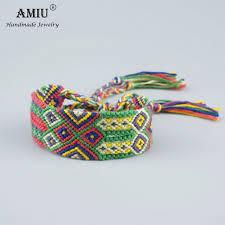 weave friendship bracelet images Amiu handmade popular brand bangle big weave friendship bracelet jpg