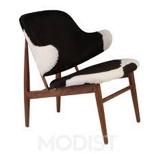 modern cowhide chairs furniture decor trend faux cowhide chair