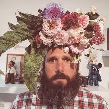 strangers flowers flower farmer grows smiles by putting flowers on strangers heads