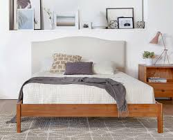 Dania Bed Frame Dania An Equal Mix Of Contemporary And Industrial Chic Styles