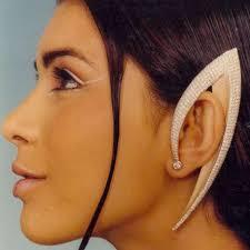strange earrings spock ear jewelry raja gondkar s strange earrings