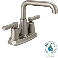 Centerset Waterfall Faucet Delta Allentown 4