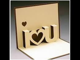 diy valentine u0027s day pop up card diy anniversary cards gift idea