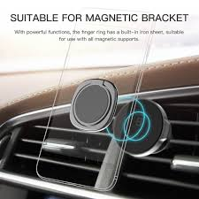 Magnetic Curtains For Car Baseus Magnetic Finger Ring Holder Mobile Phone Stand Car Mount