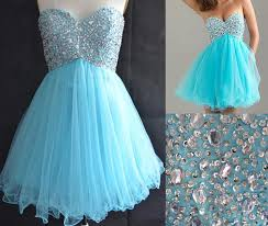 graduation dresses for 5th grade 2015 sweetheart light blue shortgraduation dresses for 8th grade