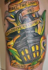 electrician tattoos street lamp tattoo pictures to pin on pinterest tattooskid