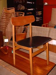 gallery u003e sold seating 4 teak chairs blk naug