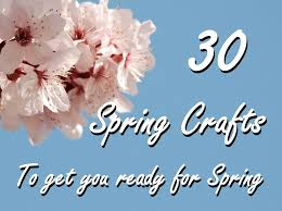 30 spring crafts u0026 ideas to inspire you red ted art u0027s blog