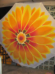 World Market Patio Umbrella by 9ft Hand Painted Patio Umbrella Www Thecreativescot Com