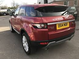 red land rover used red land rover range rover evoque for sale gloucestershire