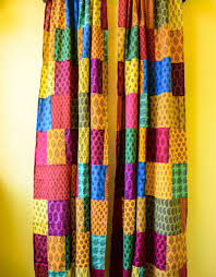 Indian Curtain Fabric Buy Patchwork Curtain Online At Low Prices In India Amazon In