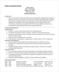 free functional executive format resume template free executive resume templates 34 free word pdf documents