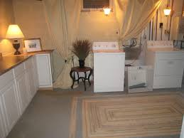 unfinished basement laundry room ideas unfinished basement
