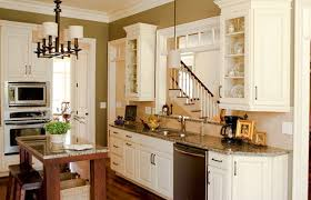 Cream Kitchen Cabinets Transitional Kitchen Sherwin Williams - Kitchen colors with cream cabinets