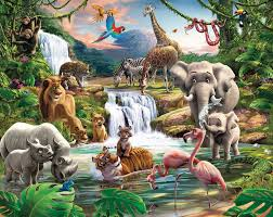 walltastic jungle adventure kids wall mural bubs n grubs walltastic jungle adventure wall mural measurements 8ft high x 10ft wide 243 84cm high x 304 80cm wide 2 4384 m high x 3 048 m wide