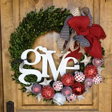 harmonious front door christmas decoration containing wondrous