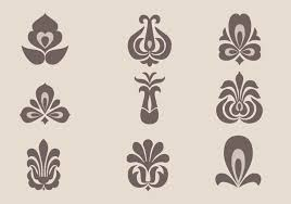 floral ornament vector pack free vector stock