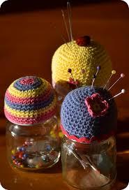 Making Pin Cushions 108 Best Crochet Pincushion Inspiration Images On Pinterest