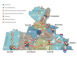 Bridgewater State University Campus Map by Southern Virginia Map Virginia Map