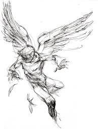 Tattoo Ideas Of Angels Best 20 Angel Drawing Ideas On Pinterest Angel Sketch Greek