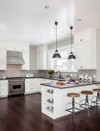 Kitchen Peninsula Lighting 15 Kitchen Peninsula Lighting Ideas Baytownkitchen To Grey Dining