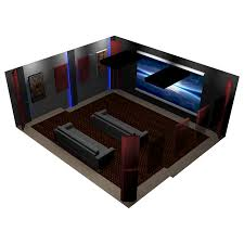 acoustic wall panels home theater room package 3 corner bass traps