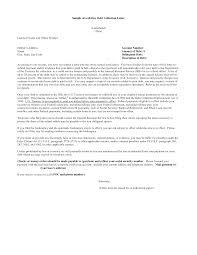 sample debt collection letter format letter format 2017