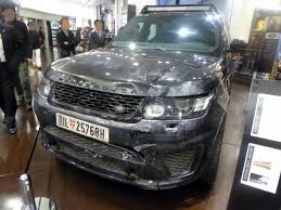 modified 2015 range rover file the frontview of land rover range rover sport svr l494 used