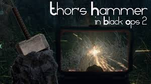 black ops 2 thor s hammer easter egg youtube