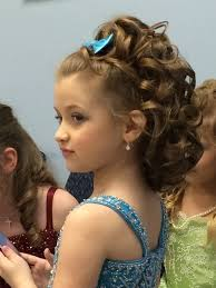 pageant style curling long hair 30 best curly hairstyles for kids beauty pageant pageants and