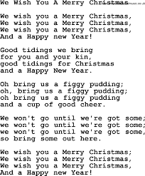 catholic hymns song we wish you a merry lyrics and pdf