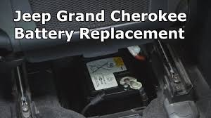 jeep grand cherokee battery replacement the battery shop youtube