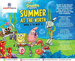 spongebob squarepants summer at the north