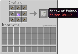 Minecraft Blindness Potion How To Make An Arrow Of Poison 0 11 In Minecraft
