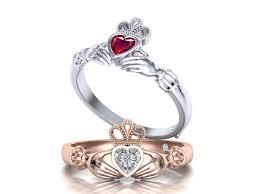 claddagh engagement ring claddagh engagement ring 083 3d print model cgtrader
