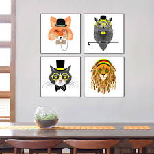 Modern Wall Stickers For Living Room Online Get Cheap Animal Print Wall Decor Aliexpress Com Alibaba