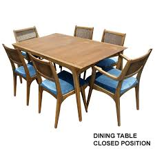 Drexel Heritage Dining Room Chairs Midcentury Retro Style Modern Architectural Vintage Furniture From