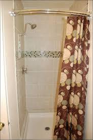 bathrooms amazing pedestal sink curtain country farmhouse shower