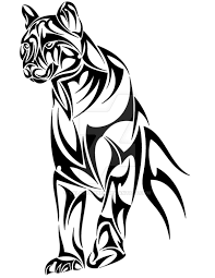 beautiful tribal panther design by valanyonnen tattoos