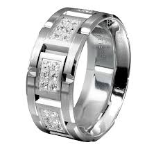 cheap white gold mens wedding bands men s wedding bands men s white gold diamond wedding band