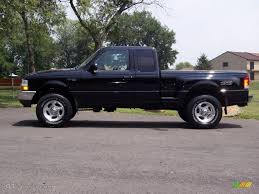 black 2000 ford ranger xlt supercab 4x4 suvs jeep u0026 truck