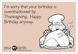i had to cook a feast so many times on my birthday so true