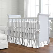 Grey And White Crib Bedding Best 25 White Crib Bumper Ideas On Pinterest Pink And Gray