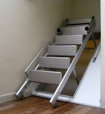 Retractable Stairs Design Tong Retractable Stair Defauw Design Fabrication Stairs Ladder Jpg