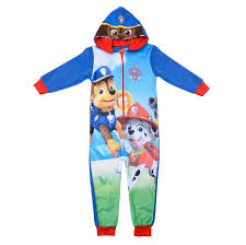 paw patrol hooded fleece chase skye marshall pup power pink blue