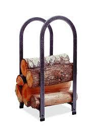 amazon com enclume vertical arch log rack hammered steel home