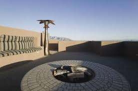 How To Make A Fire Pit In Your Backyard by How To Build A Sandstone Fire Pit Hunker